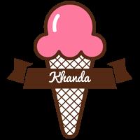 Khanda premium logo