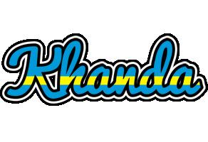 Khanda sweden logo