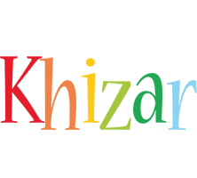 Khizar birthday logo