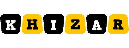 Khizar boots logo