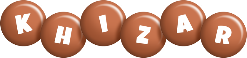 Khizar candy-brown logo