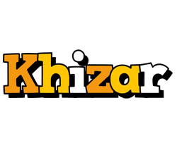 Khizar cartoon logo