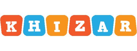Khizar comics logo