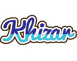 Khizar raining logo