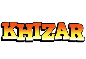 Khizar sunset logo