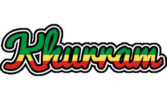 Khurram african logo