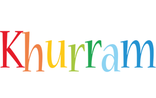 Khurram birthday logo