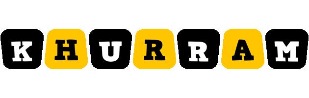 Khurram boots logo