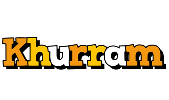 Khurram cartoon logo