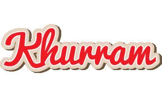 Khurram chocolate logo