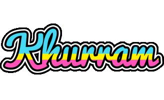 Khurram circus logo