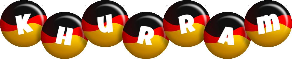 Khurram german logo