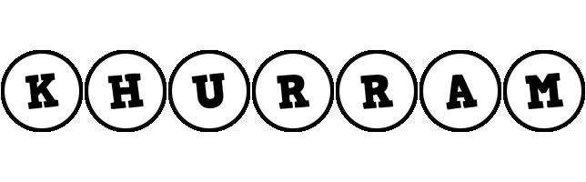 Khurram handy logo