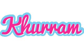 Khurram popstar logo