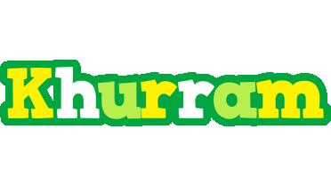 Khurram soccer logo