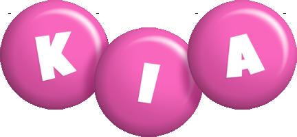 Kia candy-pink logo