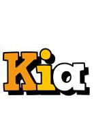 Kia cartoon logo