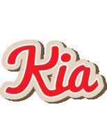 Kia chocolate logo