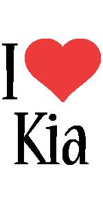 Kia i-love logo