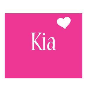Kia love-heart logo