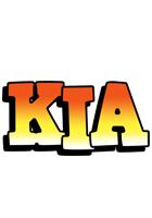 Kia sunset logo