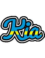 Kia sweden logo