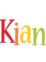 Kian birthday logo
