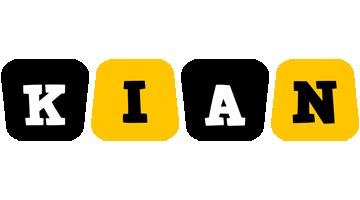 Kian boots logo