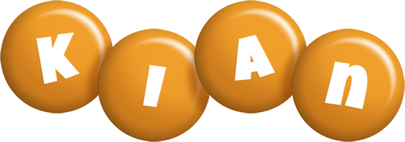 Kian candy-orange logo