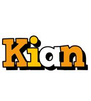 Kian cartoon logo
