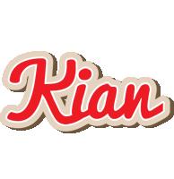 Kian chocolate logo