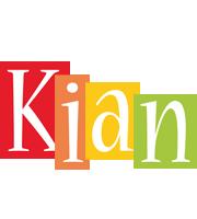 Kian colors logo