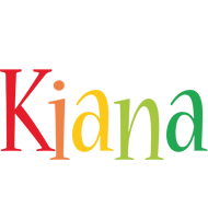 Kiana birthday logo