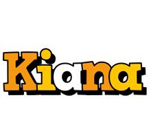 Kiana cartoon logo