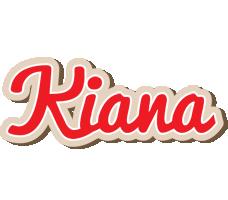 Kiana chocolate logo