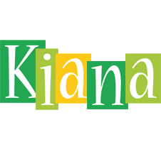 Kiana lemonade logo