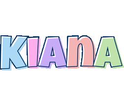 Kiana pastel logo