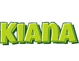 Kiana summer logo