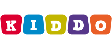 KIDDO logo effect. Colorful text effects in various flavors. Customize your own text here: https://www.textGiraffe.com/logos/kiddo/