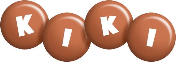 Kiki candy-brown logo