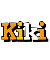 Kiki cartoon logo
