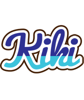Kiki raining logo