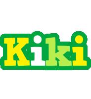 Kiki soccer logo