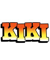 Kiki sunset logo