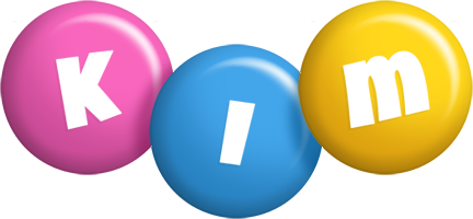 Kim candy logo