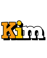 Kim cartoon logo