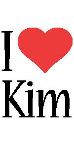 Kim i-love logo