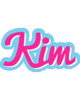Kim popstar logo