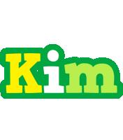 Kim soccer logo