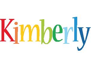 Kimberly birthday logo
